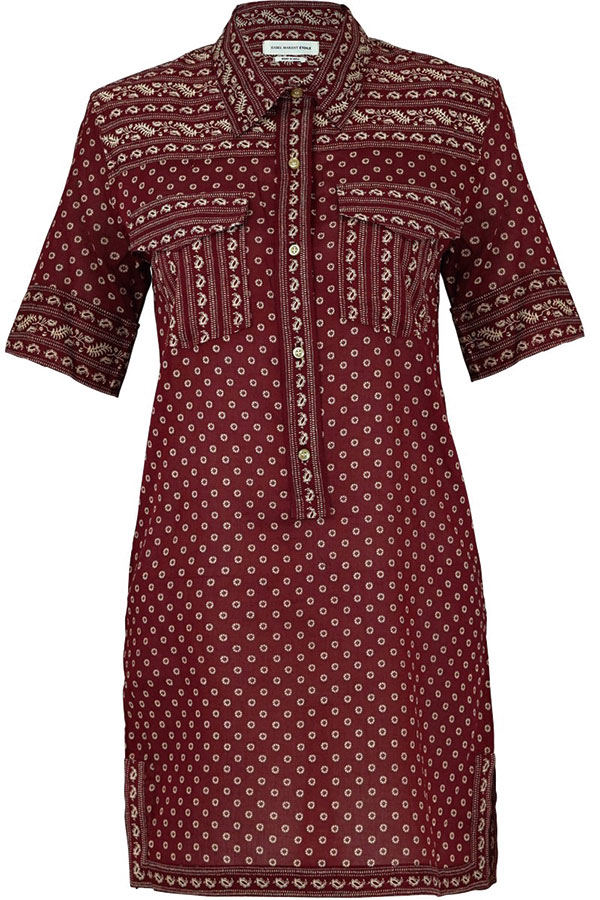 20.Isabel-Marant-Etoile-Lexine-Shirt-Dress-in-Bordeaux-$325