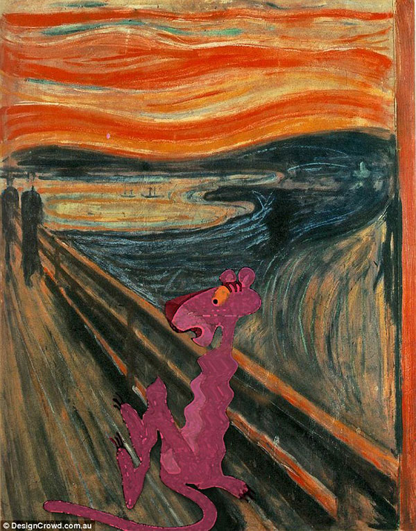 3050697600000578-3405564-Expressionist_panther_The_Pink_Panther_features_in_Edvard_Munch_-a-41_1453163816238